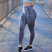 Load image into Gallery viewer, Thrive Slate Grey Leggings - The Omega Fitness Workout Apparel