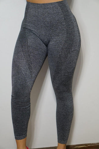 Ark Compression Leggings- Grey - The Omega Fitness Workout Apparel
