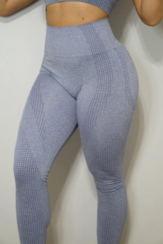 Ark Compression Leggings- Indigo - The Omega Fitness Workout Apparel