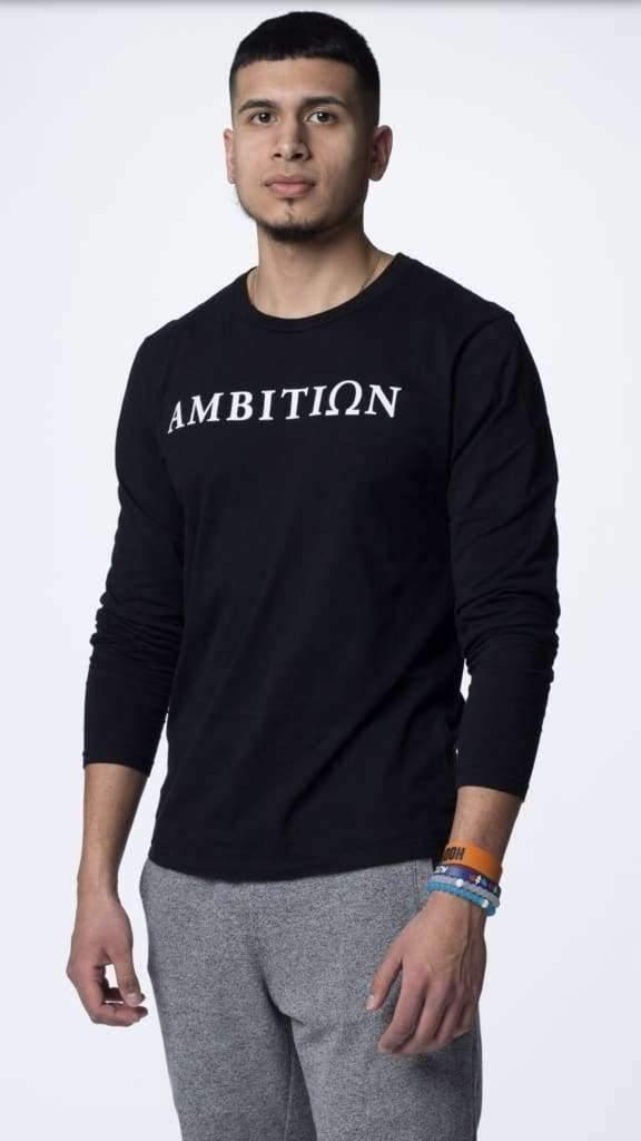 Ambition Long Sleeve - The Omega Fitness Workout Apparel