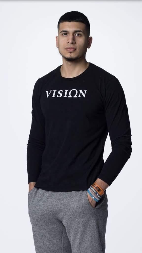 Vision Long Sleeve - The Omega Fitness Workout Apparel