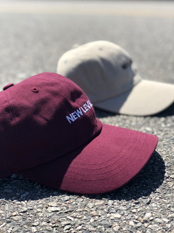 Retro New Level Lifestyle Hat (Maroon)