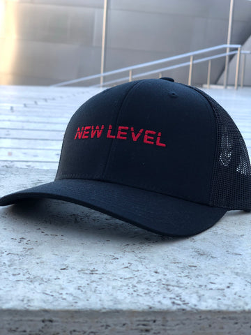 |NEW| Premium Sport Cap - (Black Red)