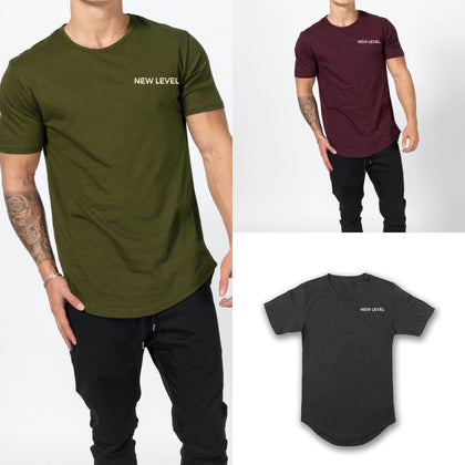 (3) Premium Scallop Tee Package