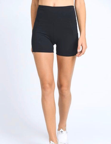 "New Level ""Active"" Shorts  - (Black)"