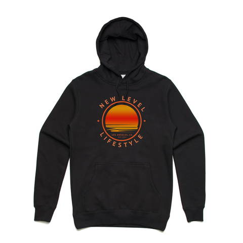 |ALL NEW| New Level ''Sunrise Hoodie'' (Black)