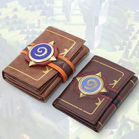 Hearthstone Card Pack Wallet Embossed Leather