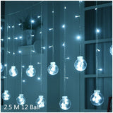 New Year Led Light String Decorations Adornos De Navidad Christmas Decorations for Home Christmas Ornaments Lamp New Year 2020