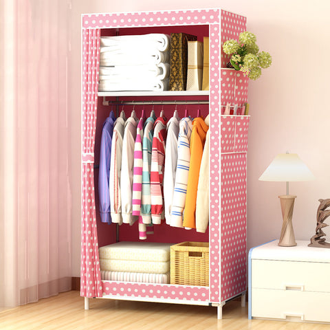 Simple DIY Non-woven fold Portable Storage cabinet