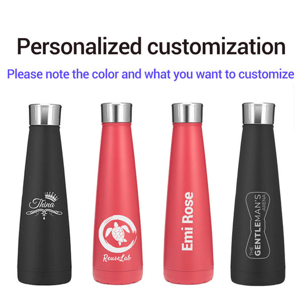 Logo Custom Thermos Bottle