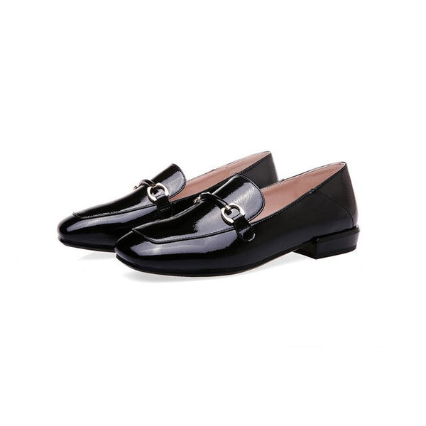 Women Shoes Patent Leather Flat