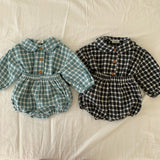 baby clothing plaid full sleeve shirt  and  bloomer