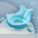 Newborn Bath Seat Support Mat Portable