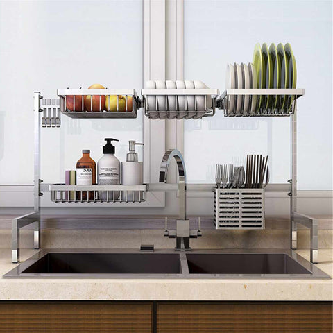 Stainless Steel DIY Kitchen Organizer