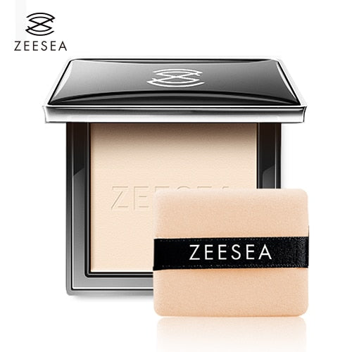 Compact Pressed Powder For Face Control Oil