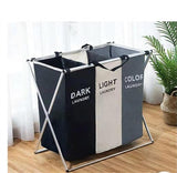 X-Shape Foldable Dirty Laundry Basket