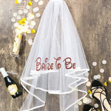 Minnie Disney Bride to be Bridesmaid Robe veil
