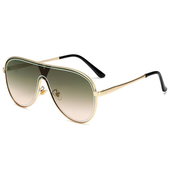2020 retro eye protection frameless alloy sunglasses