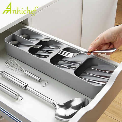 Kitchen Drawer Cutlery Storage tray