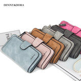 Women Wallet Hasp Card Bags