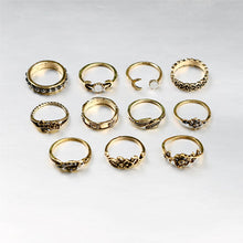 11pcs/Set Boho Vintage Rings