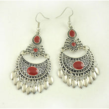 Vintage Round Tassel Drop Earrings