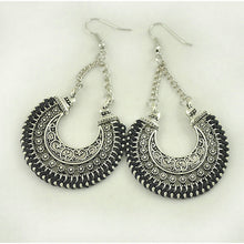 Vintage Round Drop Earrings