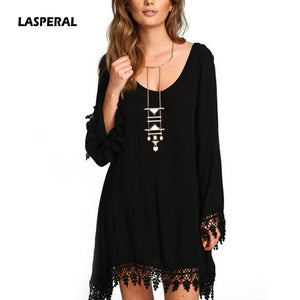 Black Tassel Party Dress