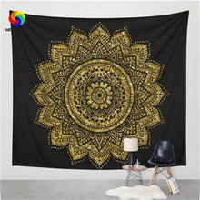 Floral Art Hanging Tapestry with Multiple Styles