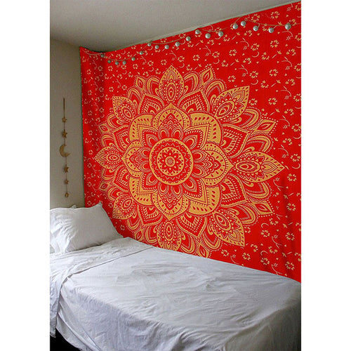 Red and Gold Tapestry