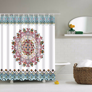 Mandala Bohemian Shower Curtain