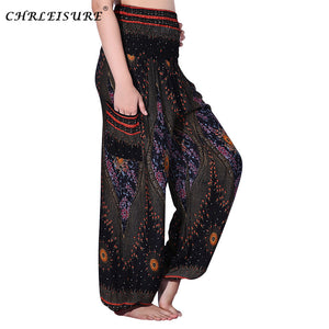 Boho High Waist Loose Pants