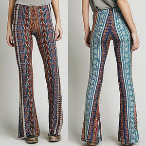 Bell Bottom Long Flare Pants