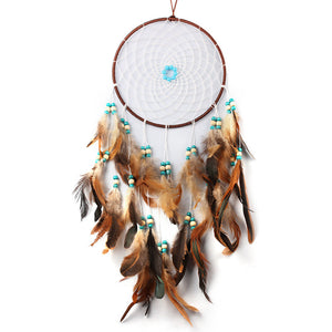 Dream Catcher With Feathers For Home Decoration
