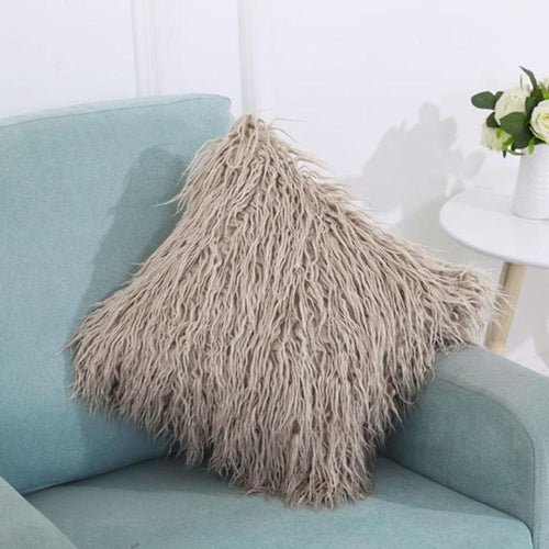 Fur Cushion Cover