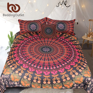 Floral Bedding Set  Duvet Cover