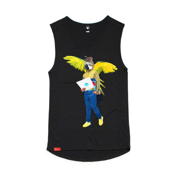 Unisex Bird of play Tank Tee