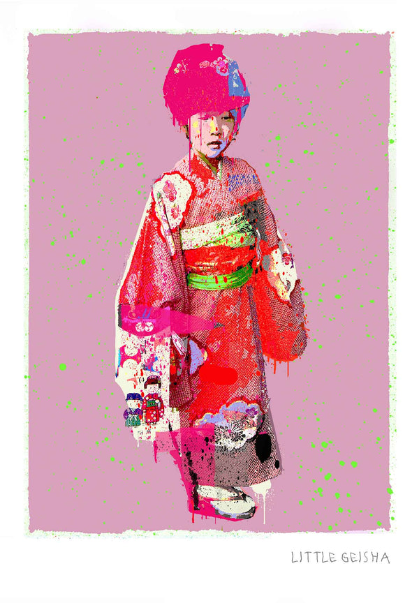 Little Geisha Print