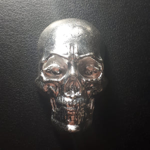 Beaver Bullion - new style 10 oz .999 Pure Silver Skull
