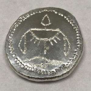 Beaver Bullion 1/2 oz .999 Pure Silver Egyptian Style Round