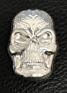 Beaver Bullion  1 oz .999 Pure Silver Celtic Skull
