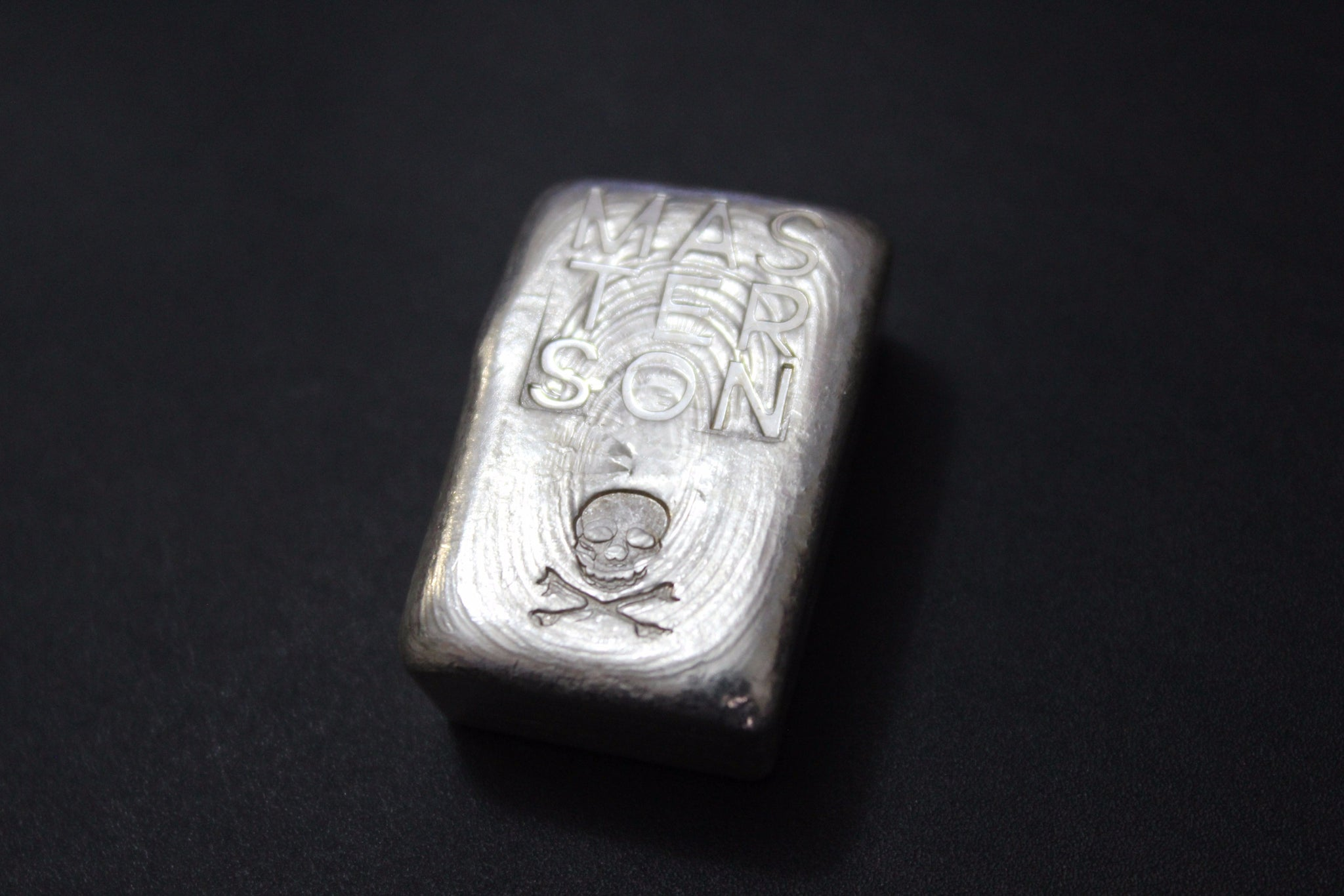 Masterson Hand Poured 3 oz .999 Pure Silver Bar
