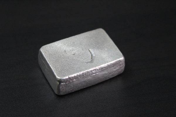 Beaver Bullion Hand Poured 3 oz .999 Pure Silver Bar