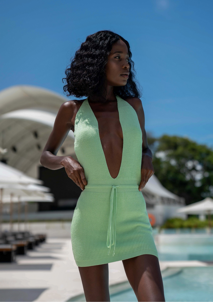 Load image into Gallery viewer, AZORES DRESS - mint zest