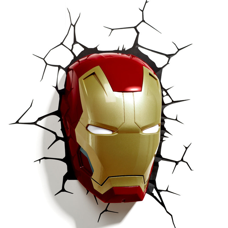 Marvel Avengers Genuine 3D LED Creative Wall Lamp – 10 Choices
