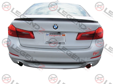 Carbon Fiber Rear Trunk Spoiler for 2017-2018 BMW 5 Series Sedan G30 / G38 Type B