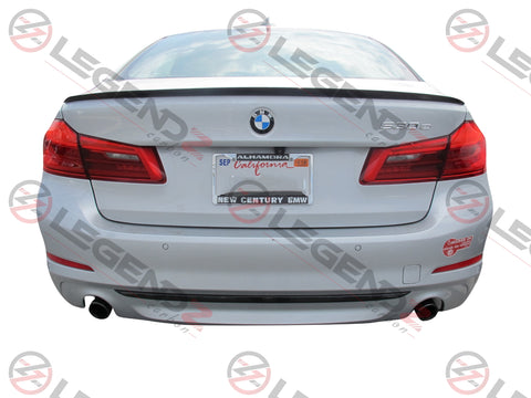Carbon Fiber Rear Trunk Spoiler for 2017-2018 BMW M5 Sedan F90Type C