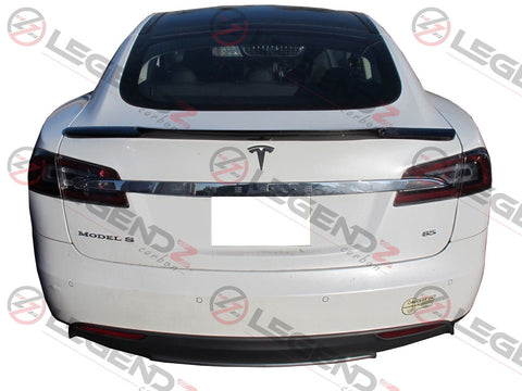 Carbon Fiber Rear Trunk Spoiler for 2012-2018 Tesla Model S Sedan Type C
