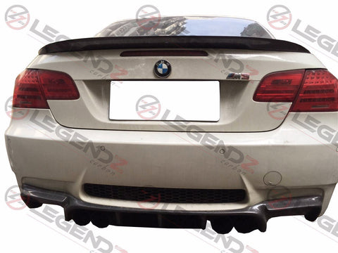 Carbon Fiber Rear Trunk Spoiler for 2007-2013 BMW M3 Convertible E93 Type B