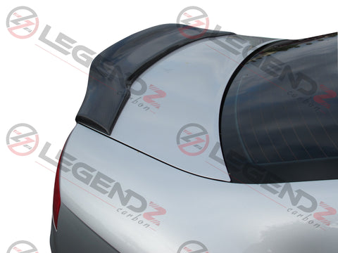 Carbon Fiber Rear Trunk Spoiler for 2005-2008 Audi S4 B7 Sedan Type E